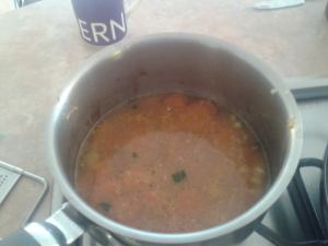 soup cooking
