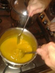 yellow sauce