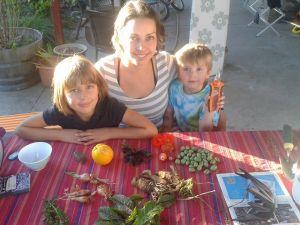 foraging kids
