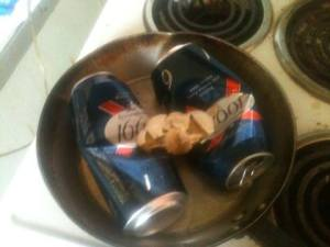 cooking cans