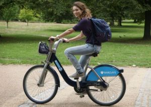 female boris bike
